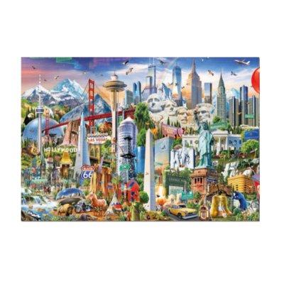 Puzzle Símbolos de Norte-América 1500pzs