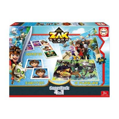 Puzzle Zak Storm 4 en 1 2x25pzs