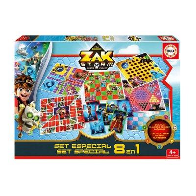 Puzzle Set especial 8 en 1 Zak Storm