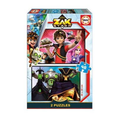 Puzzles Zak Storm 2x48pzs