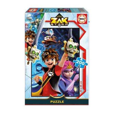 Puzzles Zak Storm 200pzs