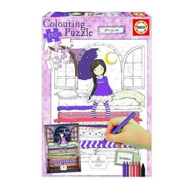 Puzzle Colorear Gorjuss 150pzs