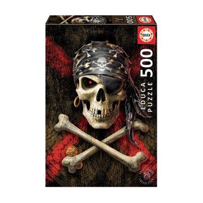 Wholesaler of Puzzle Calavera pirata 500pzs
