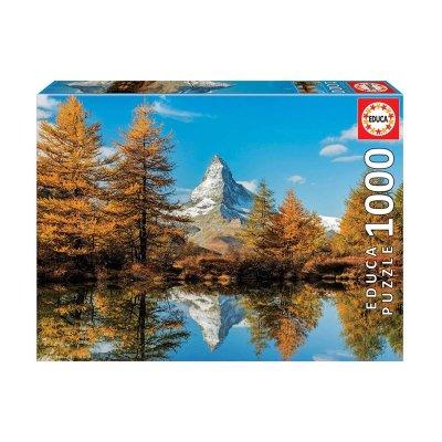 Puzzle Monte Cervino en otoño 1000pzs
