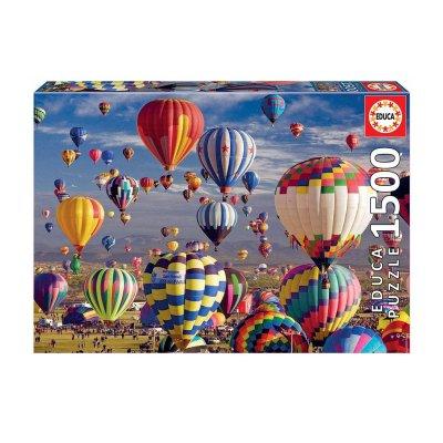 Puzzle Globos aerostáticos 1500pzs