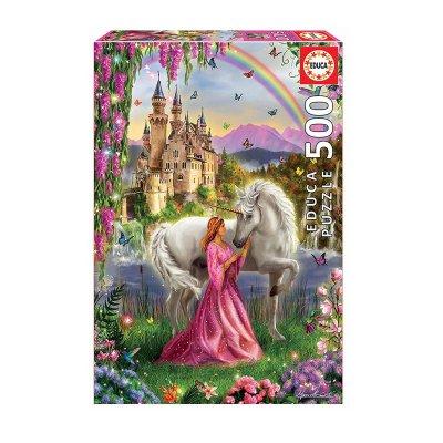 Wholesaler of Puzzle Hada y Unicornio 500pzs