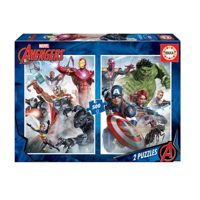 Puzzles Los Vengadores Marvel 2x500pzs