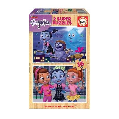 Puzzle madera Vampirina 2x16 pzs