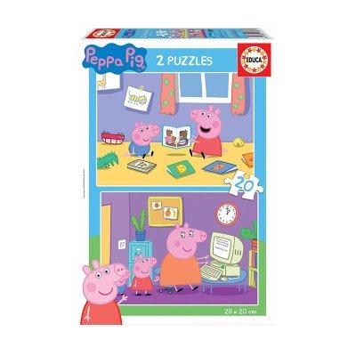 Puzzles Peppa Pig Fun 2x20pzs
