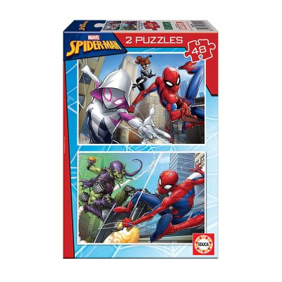 Puzzles Spiderman Marvel 2x48pzs