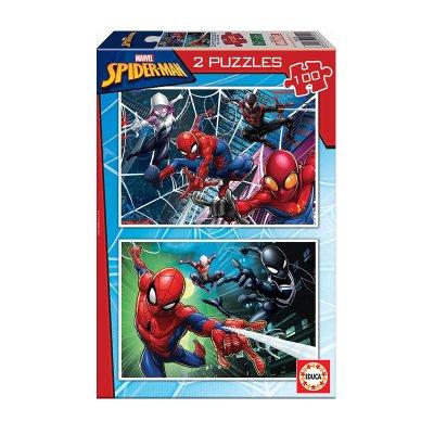 Puzzle Spiderman Marvel 2x100pzs