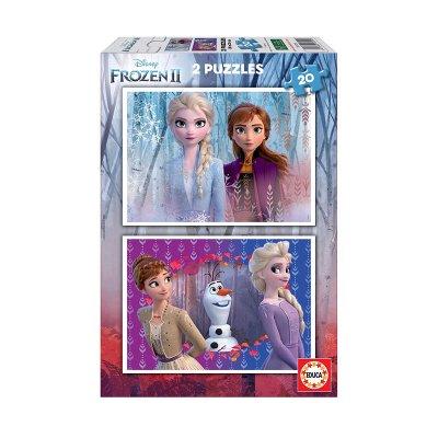 Puzzles Frozen 2 Disney 2x20pzs
