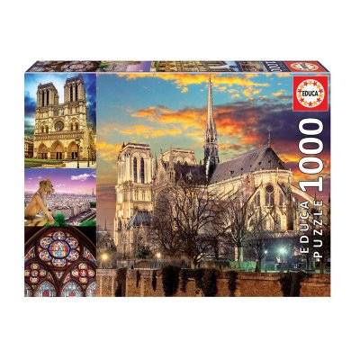 Wholesaler of Puzzle Collage de Notre Dame 1000pzs
