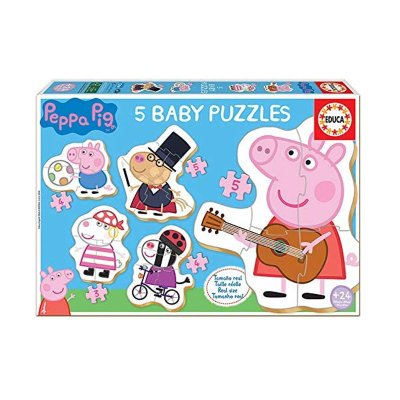 Wholesaler of Baby Puzzle Peppa Pig 3 4 5pzs