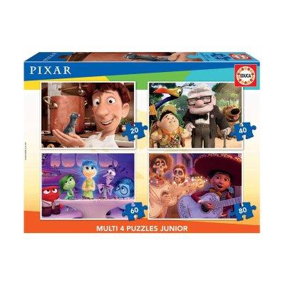 Wholesaler of Multi 4 puzzles Junior Pixar 20 40 60 80pzs