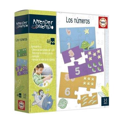 Wholesaler of Puzzle Los números Aprender Divertido 40pzs