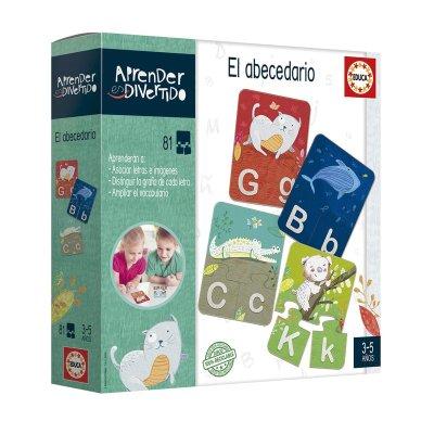 Wholesaler of Puzzle El abecedario Aprender Divertido 81pzs