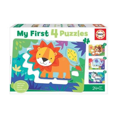 Wholesaler of Puzzles Animales de la selva 5/8pzs