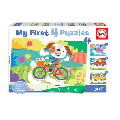 Wholesaler of Puzzles Vehículos 5/8pzs