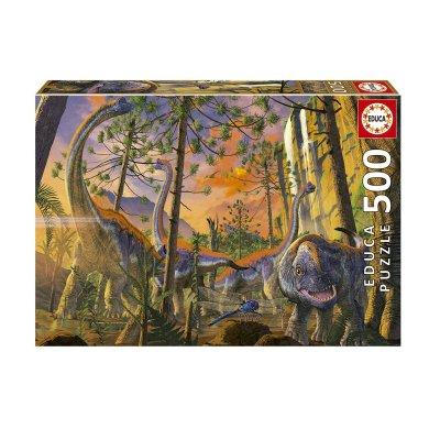 Wholesaler of Puzzle Curioso Dinosaurios 500pzs