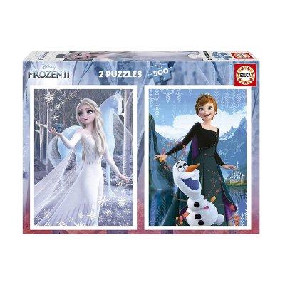 Wholesaler of Puzzles Frozen II 2x500pzs