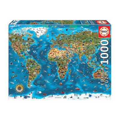 Wholesaler of Puzzle Maravillas del mundo 1000pzs