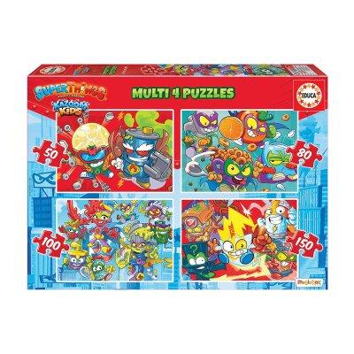 Multi 4 puzzles Superthings 50-80-100-150pzs