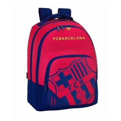 Mochila grande 42cm tres cremalleras escudo F.C. Barcelona