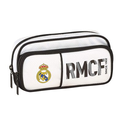 Estuche portatodo triple RMCF Real Madrid