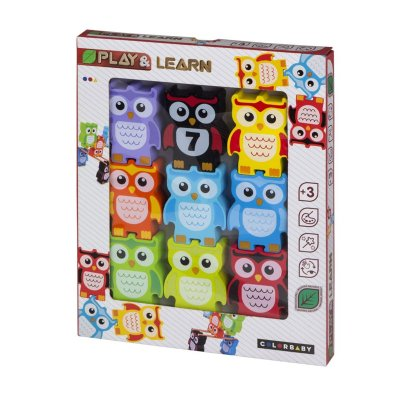 Wholesaler of Juego Búho encajables madera Play & Learn