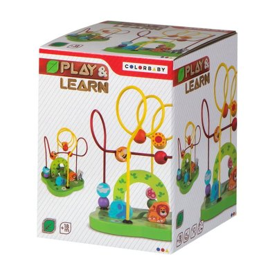 Wholesaler of Laberinto madera animales Play & Learn