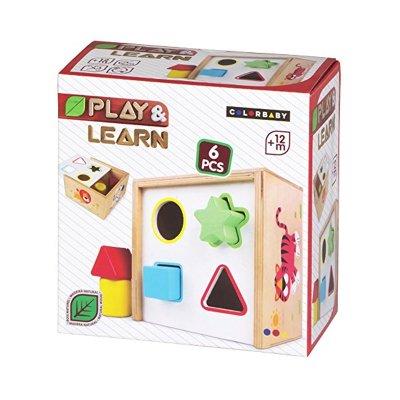 Caja actividades madera Play & Learn