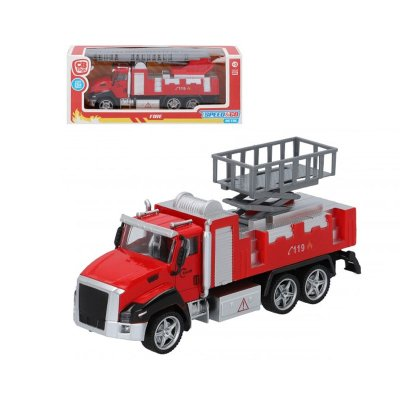 Miniatura vehículos camión bomberos