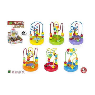 Juego laberinto madera Play & Learn