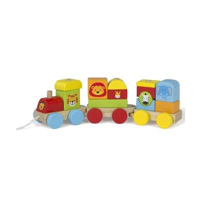 Wholesaler of Juego Tren de madera animales Play & Learn