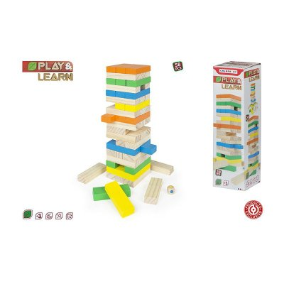 Wholesaler of Torre blocs madera 58plz Play & Learn
