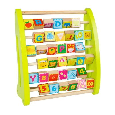 Wholesaler of Ábaco de madera con números y dibujos Play & Learn