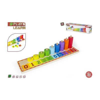 Wholesaler of Juego educativo fichas y números Play & Learn