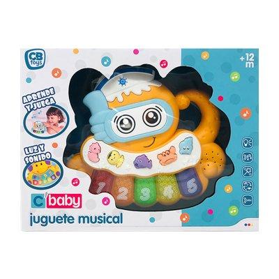 Juguete musical CBaby - pulpo