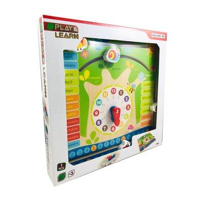 Reloj calendario educativo Play & Learn