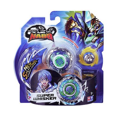 Peonza Standard Infinity Nado Super Whisker