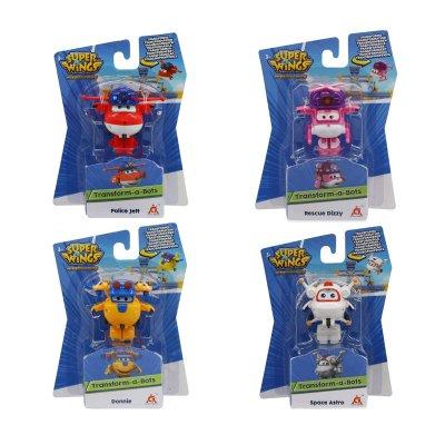 Wholesaler of Figuras Super Wings Transform-a-Bots surtido 4 personajes