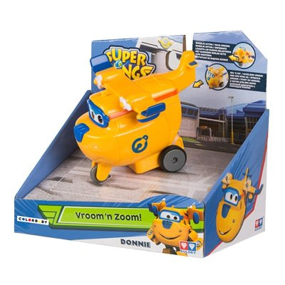 Figura Super Wings Vroom 'n Zoom! - modelo Donnie
