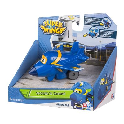 Figura Super Wings Vroom 'n Zoom! - modelo Jerome