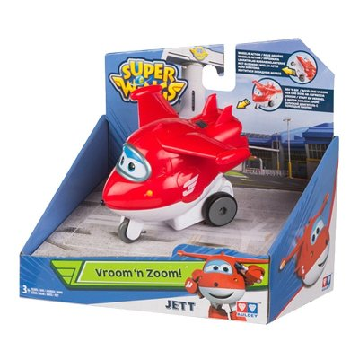 Figura Super Wings Vroom 'n Zoom! - modelo Jett