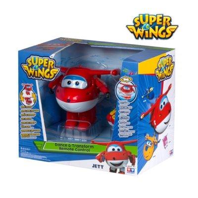 Figura Super Wings Teledirigido Dance & Transform Jett