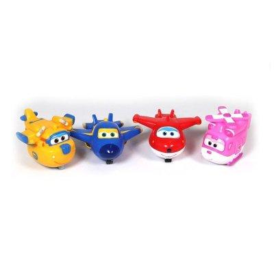 Expositor Figuras de baño Super Wings Soft Squirtees