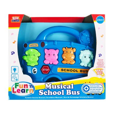 Wholesaler of Autobús musical Fun & Learn - azul