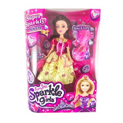 Muñeca Princesa Julia Sparkle Girlz - modelo 1