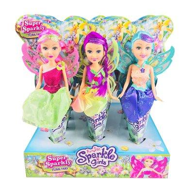 Muñecas Floral Fairy Hadas Sparkle Girlz